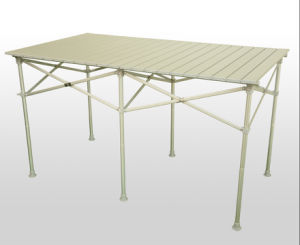 Long Rolling Table/Picnic Table/Folding Table/Aluminum Table