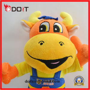 Custom Made Corporate Mascot Cow Plush Stuffed Stuffed Plush Toy pictures & photos