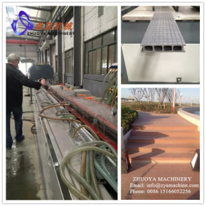 Outdoor WPC Deck Panel and Pergola Profile Making Machine/Extruder Machine pictures & photos