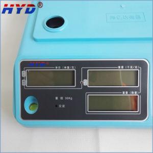 Haiyida Dual Display LED/LCD Display Digital Balance pictures & photos