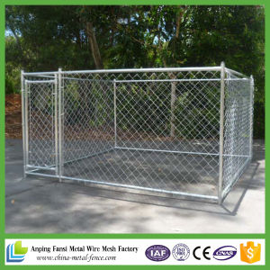 Iron Wire Chain Link Fence Dog Kennel pictures & photos
