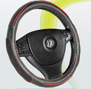 PVC PU Car Steering Wheel Cover (BT7239A) pictures & photos