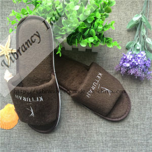 Cheap Wholesale Custom Disposable Indoor Bathroom SPA Slipper EVA Hotel Slipper pictures & photos