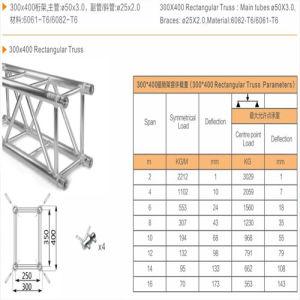 400 Triangle Truss Hot Sale Original Good Quality Aluminum Flat Roof Trusses/Stage  Truss/Truss System/Truss Booth/Truss Stand/Bolt Truss/Roof Truss/
