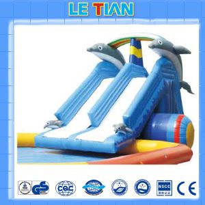 Center Park Durable Inflatable Slide for Fun