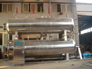 Stainless Steel Lateral Spray Retort with PLC