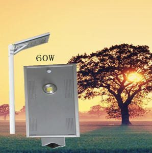 Solar Power Product Ce RoHS 10W Solar LED Street Light All in One for Courtyard or Park pictures & photos