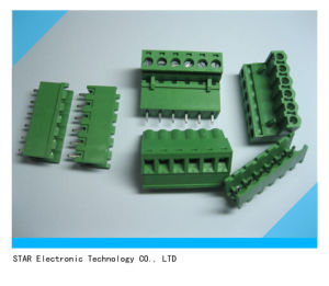 Factory Price 5.0mm 5.08mm Pluggable Terminal Block PCB pictures & photos