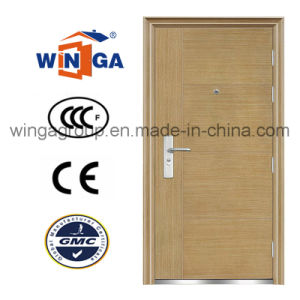 Professional Hot Sell Good Quality New Room Steel Door (W-S-02) pictures & photos