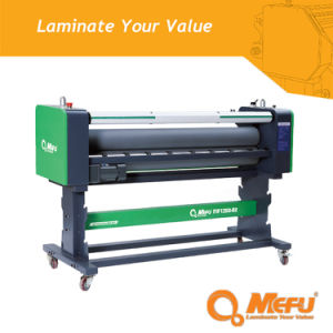 Mefu Manufacturer Piece Laminating Machine with Flatbed pictures & photos