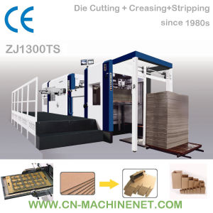Zj1300ts Automatic Flatbed Die Cutting and Creasing Machine to Cut Corrugated Paper pictures & photos