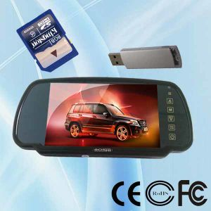 7 Inch Rearview Mirror Monitor With USB, SD Function (SF-7388MP5)