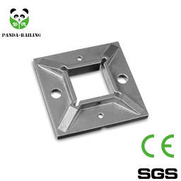 Stainless Steel Square Base Plate / Glass Fitting / Tube Fitting / Railing Fitting pictures & photos