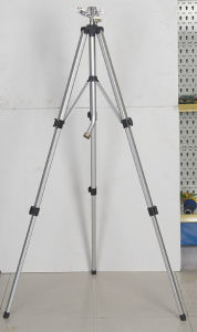 Telescoping Tripod with Zinc Impulse Sprinkler (GU509)