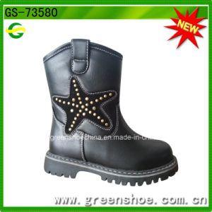 Kids Hot Sale Lace-up Fashion Girl Boots pictures & photos