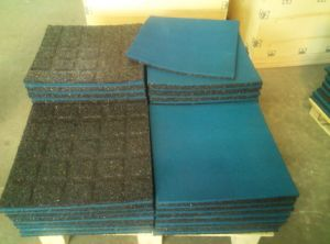Heavy Duty Rubber Mat, Interlocking Gym Matting, Rubber Floor Mat pictures & photos