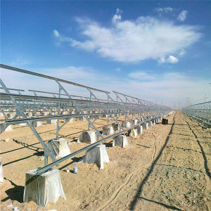 Solar Mounting Ground Screw Ground Solar Mount Bracket Installation for Solar Panels
