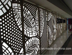 Architectural Laser Cut Decorative Aluminum Wall Cladding Panel pictures & photos