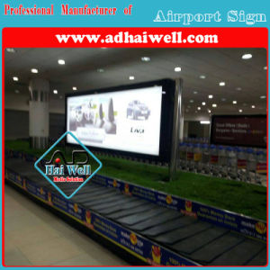 Scrolling Light Box Advertising for Airports Signage pictures & photos