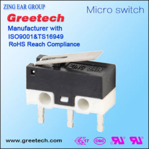 Subminiature Micro Switch for Electronic Machines pictures & photos