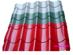 Colored Corrugated Metal Roofing Lowes pictures & photos