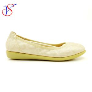 Three Color Soft Comfortable Flax Lady Women Shoes Sv-FT 018 pictures & photos