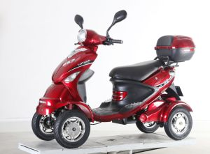 350W Electric Scooter with Four Wheels for Disabled People pictures & photos
