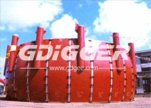 Equatorial Zone Pre Assembly LPG Spherical Tank