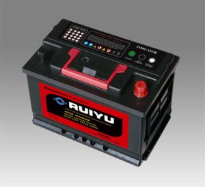 China Made Korea Type 75ah Car Battery pictures & photos