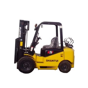LPG/Gasoline Forklift with Nissan K25 Engine pictures & photos