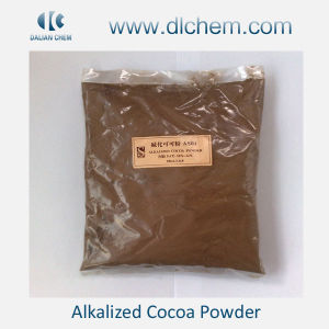 Alkalized Cocoa Powder Light Browm or Black Powder Supplier pictures & photos