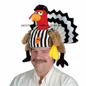 Thanksgiving Day Gift Plush Turkey Hat pictures & photos