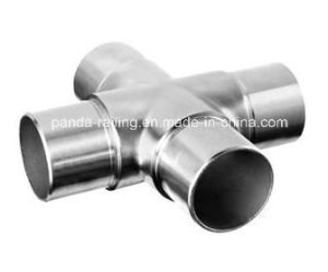 Handrail Fitting / Flush Joiner / Tube Connector / Flush Cross pictures & photos
