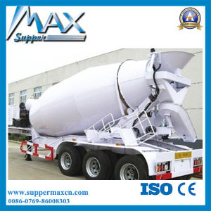 Tri-Alxe V Type Silo Bulk Cement Tank Semi Trailer, Dry Bulk Cement Transport Semi-Trailer pictures & photos