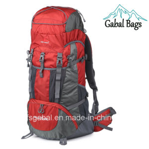 80L Waterproof Nylon Hiking Travel Bag Backpack Mochila pictures & photos