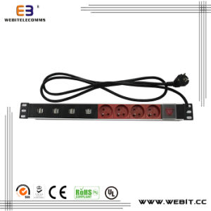 Euro Germany Series of PDU with USB Outlets pictures & photos