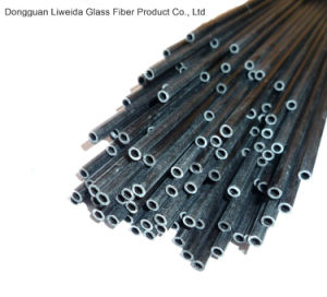 High Strength Carbon Fiber Pipe, Carbon Fiber Tube/Pole pictures & photos