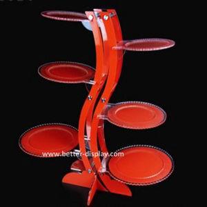 Custom Acrylic Acrylic Cupcake Tower Stand (BTR-K3013) pictures & photos