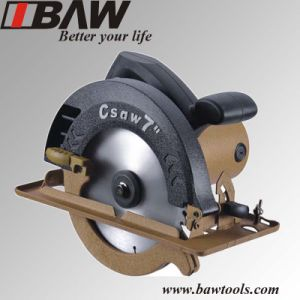 185mm Circular Saw with Plastic Motor Housing (MOD 88001B) pictures & photos