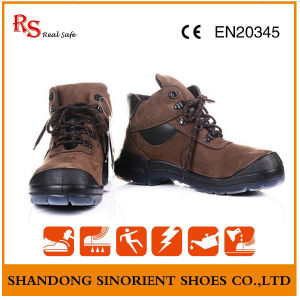 High Cut Nubuck Leather Anti Static Emperor Safety Shoes pictures & photos
