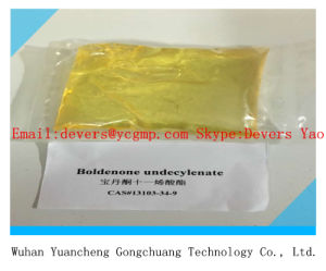Anabolic Steroid Boldenone Undecylenate CAS 13103-34-9 Yellow Liquid pictures & photos
