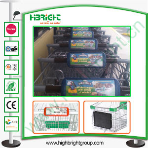 Supermarket Advertising Board for Shopping Trolley Handle pictures & photos