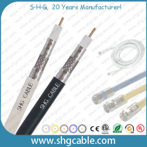 75 Ohms Standard Shield CATV Coaxial Cable Rg59u pictures & photos