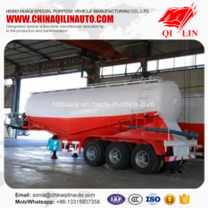 3 Axles 50000L Powder Flour  Tank Semi Trailer for Bakery pictures & photos