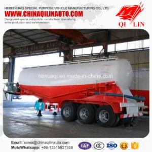 Qilin 3 Axles 50000L Volume Powder Flour Tanker Semi Trailer for Bakery pictures & photos