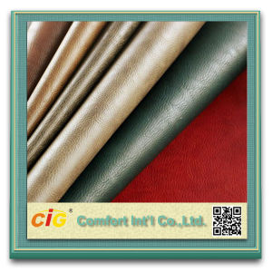PU Upholstery Leather Tc Fabric Backing for Dubai Saudi Arabia Market pictures & photos
