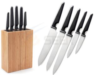 5PCS Knives Set Kitchen Knife Set in Block (B76) pictures & photos