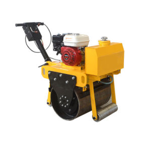 Walk-Behind Self-Propelled Vibratory New Road Roller Machine for Sale pictures & photos