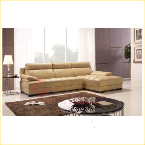 The Main Selling Genuine Leather Sofa Set pictures & photos