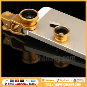 Lieqi Universal Clip 3-in-One Lens (LQ-001) pictures & photos